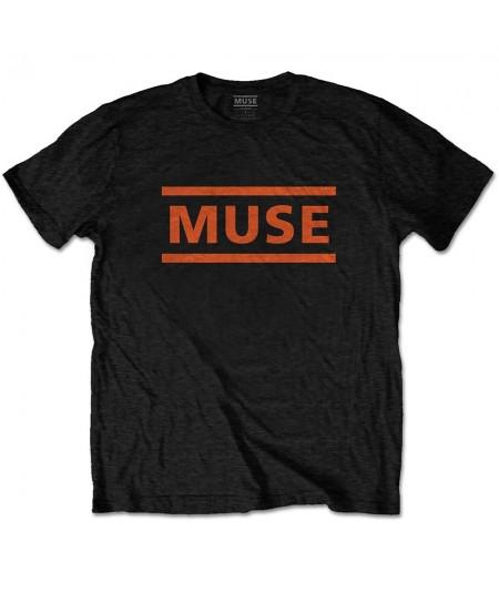 Tricou Unisex Muse: Orange Logo