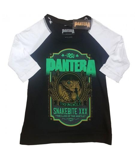 Tricou Dama cu Maneca 3/4 Pantera: Snakebit XXX Label