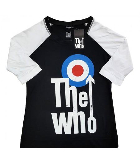 Tricou Dama cu Maneca 3/4 The Who: Elevated Target