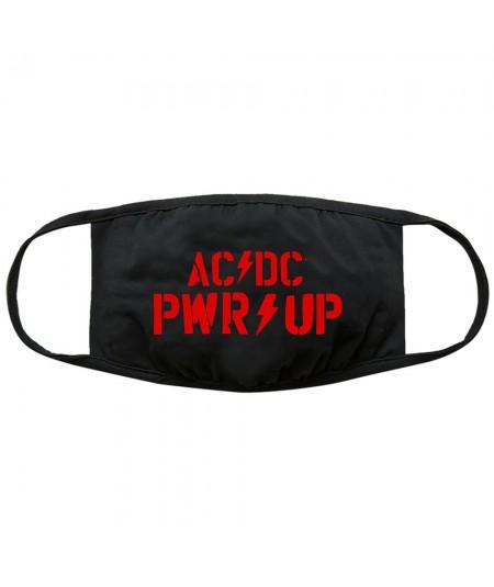 Masca AC/DC: PWR-UP Logo