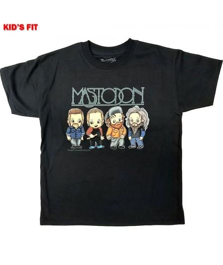 Tricou Copil Mastodon: Band Character