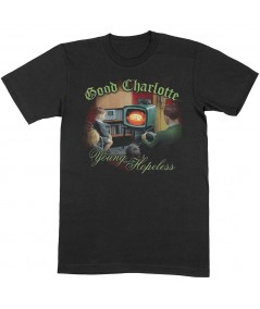 Tricou Unisex Good Charlotte: Young & Hopeless