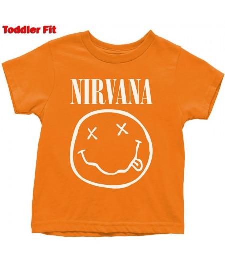 Tricou Copil Nirvana: White Smiley