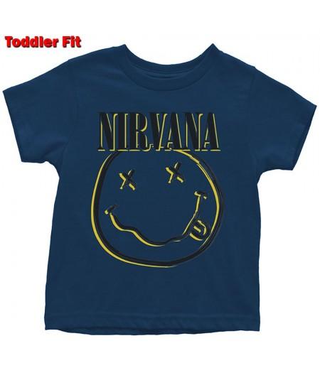 Tricou Copil Nirvana: Inverse Smiley