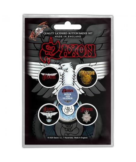 Set Insigne Saxon: Wheels Of Steel