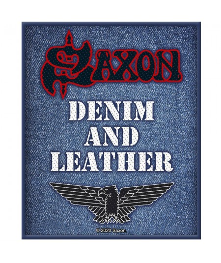 Patch Saxon: Denim & Leather