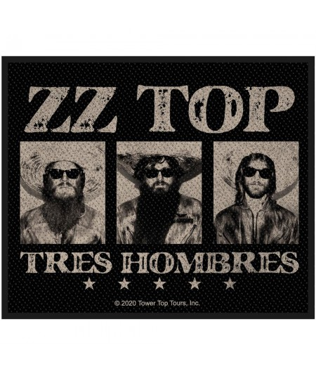 Patch ZZ Top: Tres Hombres