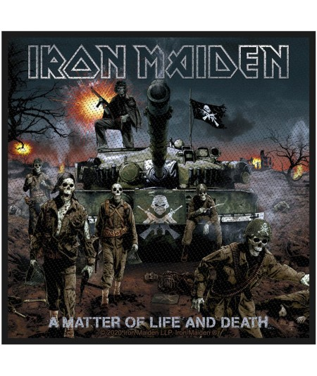 Patch Iron Maiden: A Matter Of Life And Death