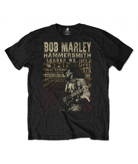 Tricou Eco Unisex Bob Marley: Hammersmith '76