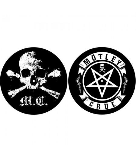Set Slipmat Motley Crue: Skull/Pentagram
