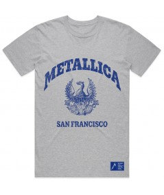 Tricou Unisex Metallica: College Crest