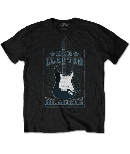 Tricou Unisex Eric Clapton: Blackie