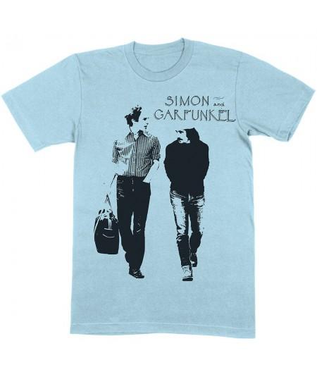 Tricou Unisex Simon & Garfunkel: Walking