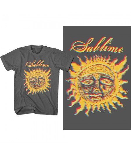 Tricou Unisex Sublime: Yellow Sun