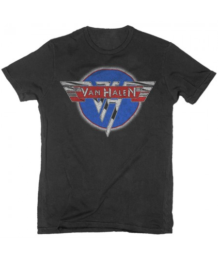 Tricou Unisex Van Halen: Chrome Logo