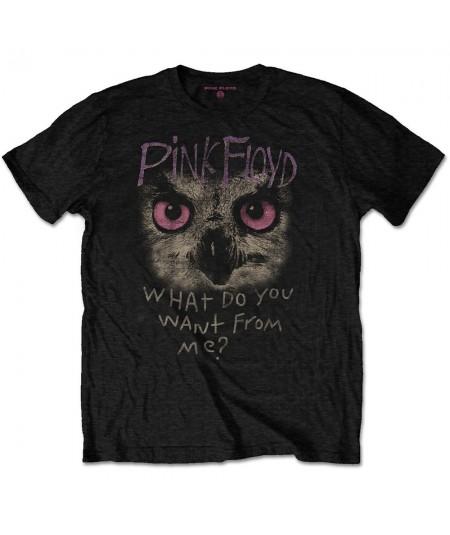 Tricou Unisex Pink Floyd: Owl - WDYWFM?
