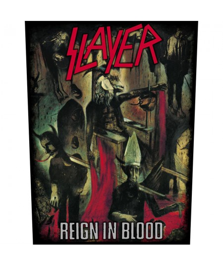 Back Patch Slayer: Reign In Blood