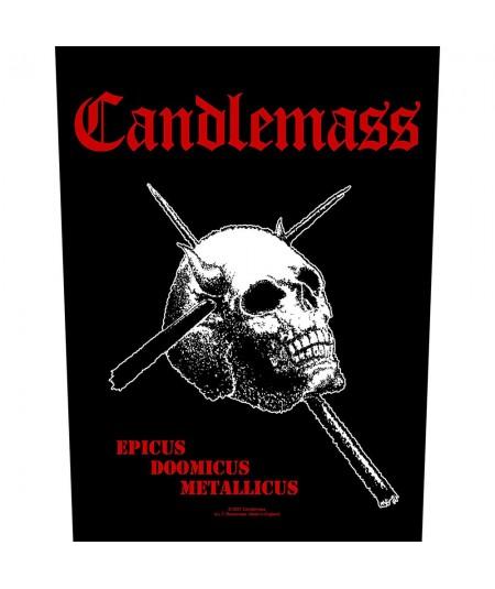 Back Patch Candlemass: Epicus Doomicus Metallicus