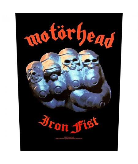 Back Patch Motorhead: Iron Fist Rectangular