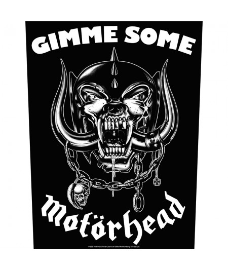 Back Patch Motorhead: Gimme Some