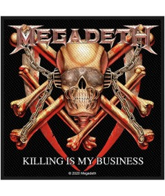 Patch Megadeth: Killing Is My Business