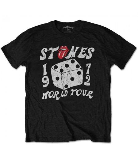 Tricou Eco Unisex The Rolling Stones: Dice Tour '72