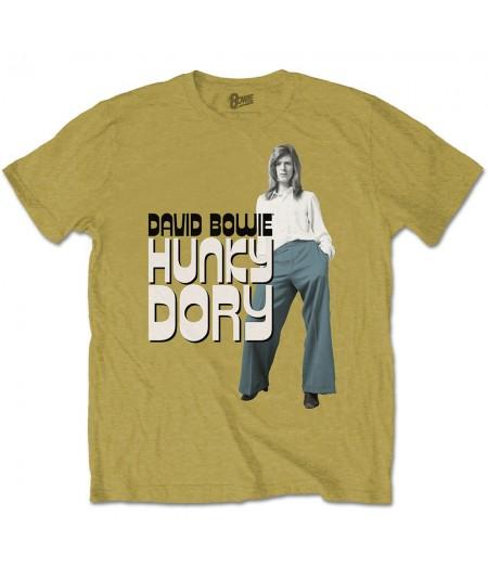 Tricou Unisex David Bowie: Hunky Dory 2
