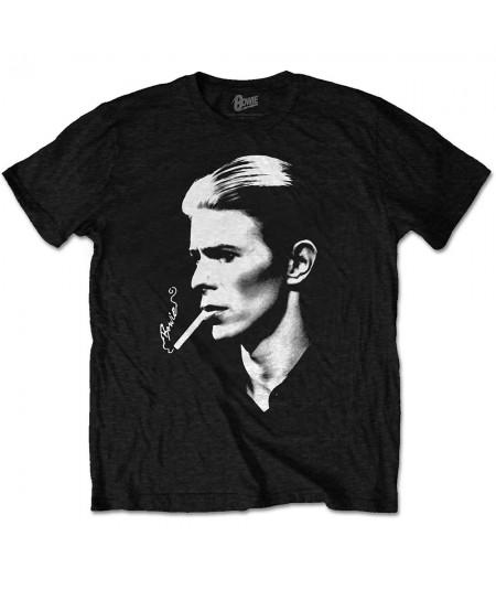Tricou Unisex David Bowie: Smoke