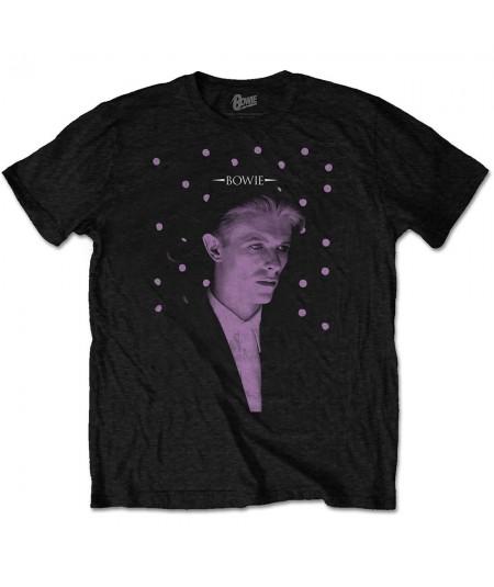 Tricou Unisex David Bowie: Dots