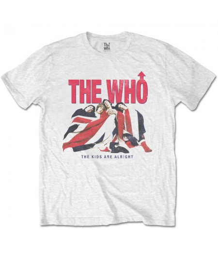 Tricou Unisex The Who: Kids Are Alright Vintage