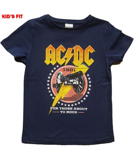 Tricou Copil AC/DC: For Those About To Rock '81
