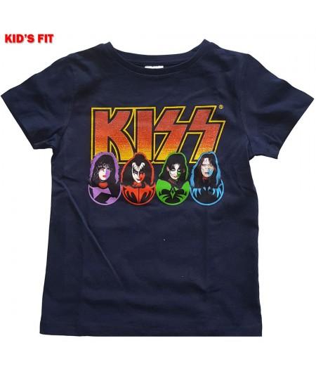Tricou Copil KISS: Logo