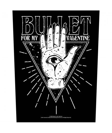 Back Patch Bullet For My Valentine: All Seeing Eye