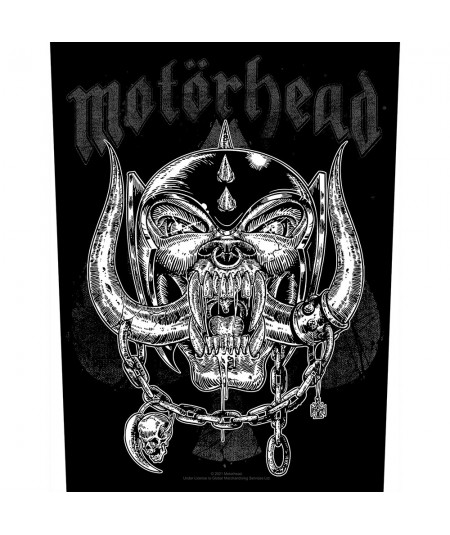 Back Patch Motorhead: Etched Iron