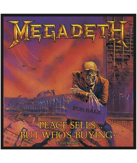Patch Megadeth: Peace Sells