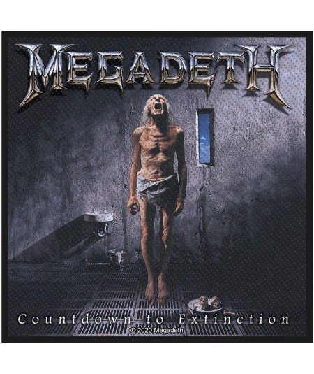 Patch Megadeth: Countdown To Extinction