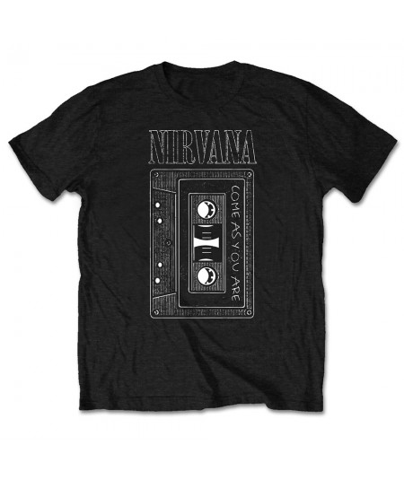 Tricou Unisex Nirvana: As You Are Tape
