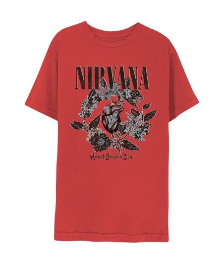 Tricou Unisex Nirvana: Heart-Shaped Box