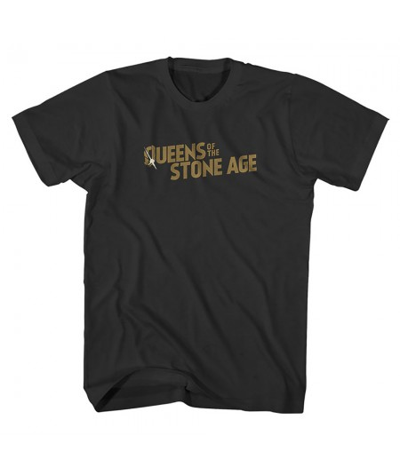 Tricou Unisex Queens Of The Stone Age: Bullet Shot Logo