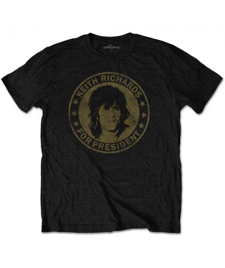 Tricou Unisex The Rolling Stones: Keith for President