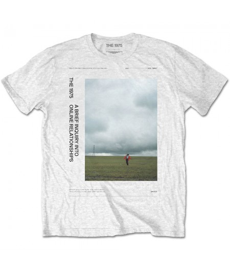 Tricou Unisex The 1975: ABIIOR Side Fields
