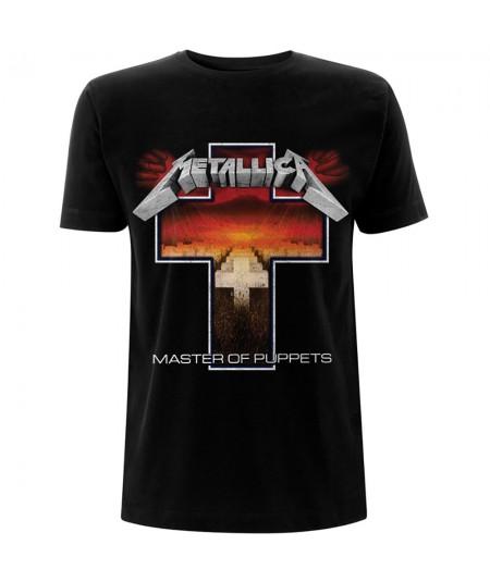 Tricou Unisex Metallica: Master of Puppets Cross