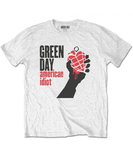 Tricou Unisex Green Day: American Idiot