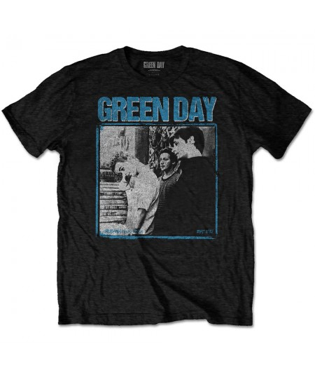 Tricou Unisex Green Day: Photo Block