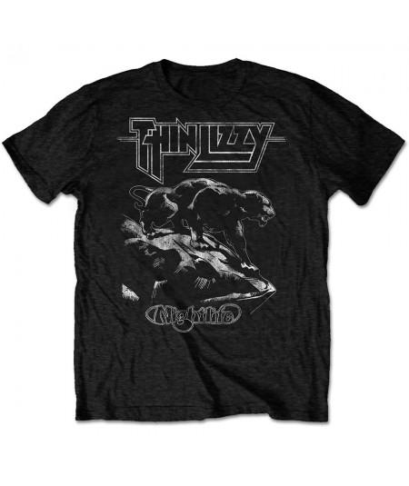Tricou Unisex Thin Lizzy: Nightlife
