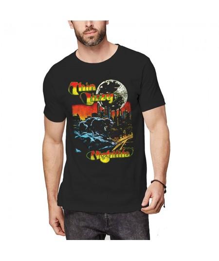 Tricou Unisex Thin Lizzy: Nightlife Colour