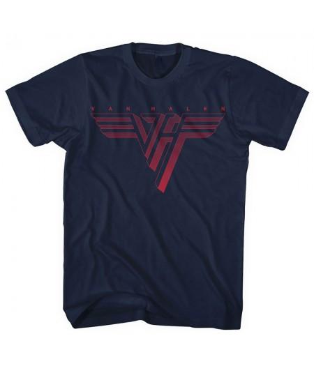 Tricou Unisex Van Halen: Classic Red Logo