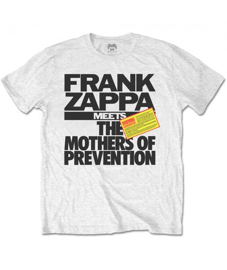 Tricou Unisex Frank Zappa: The Mothers of Prevention