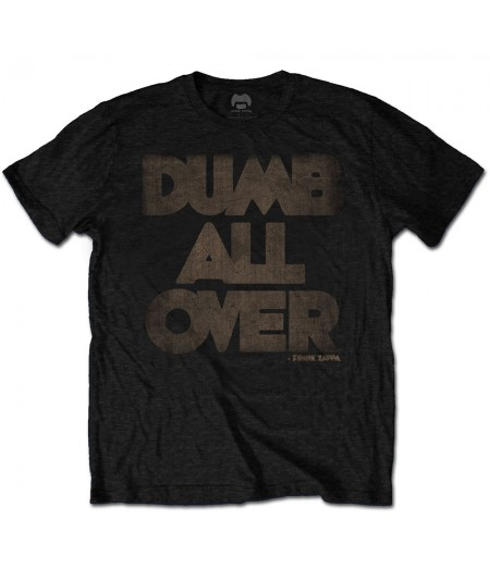 Tricou Unisex Frank Zappa: Dumb All Over