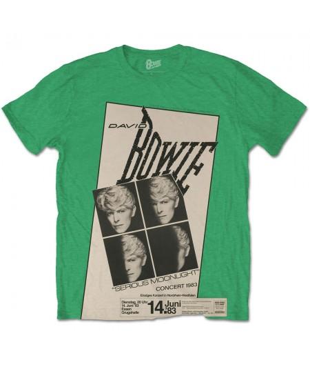 Tricou Unisex David Bowie: Concert '83